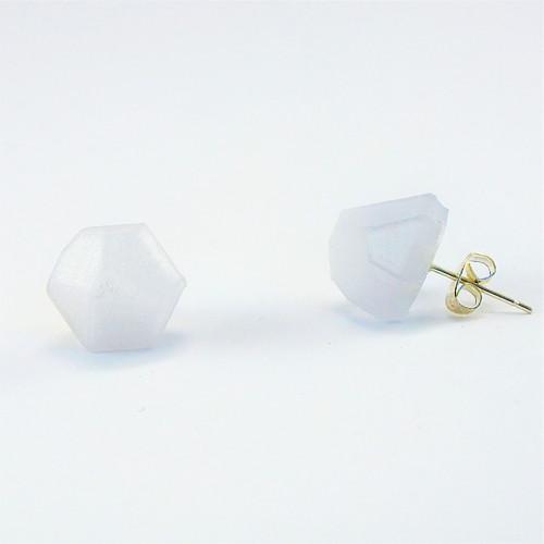 Náušnice krystal natural