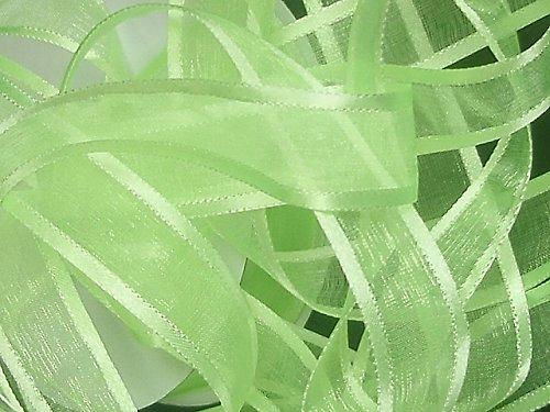 19208-B20 Stuha ORGANZA/satén lem 20mm zelená neon