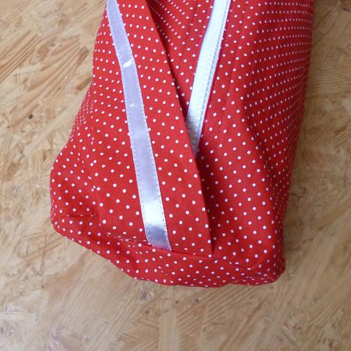Červená karkulka II - obal na jóga podl. se zipem