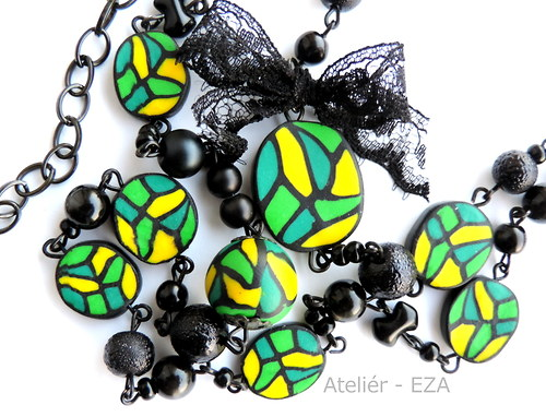 Vintage náhrdelník II+ náušnice ZDARMA