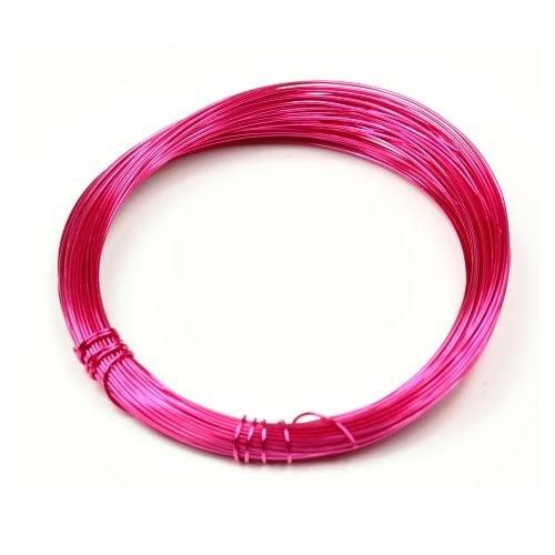 Lakovaný měděný drát 0,3 mm - 5 m - tm. růžový