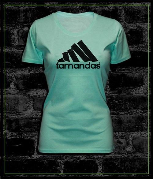 Dámské mentolové tričko  Ťamandas