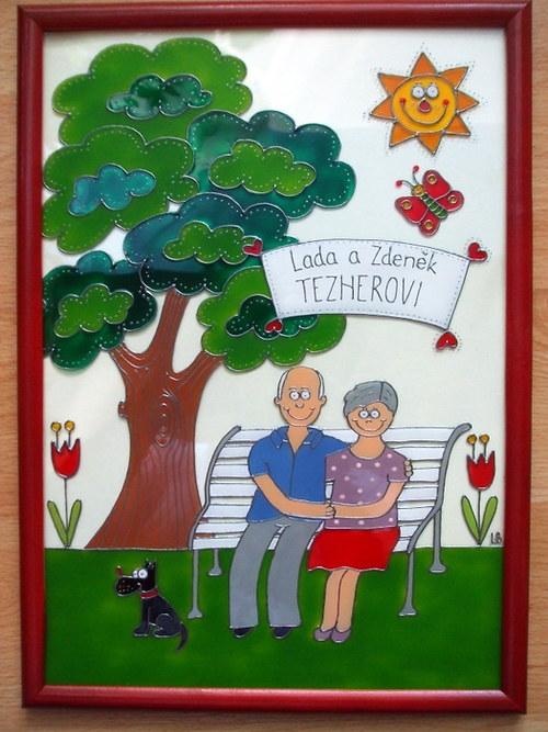 Obrázky rodinek - babička a děda :-)