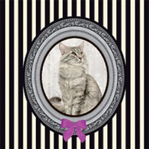 "ubrousek, motiv \""Kočka deluxe\"""