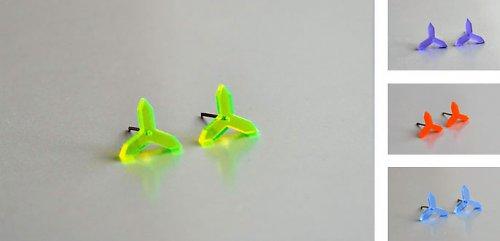 Náušnice Trigon N09 ve 4 barvách
