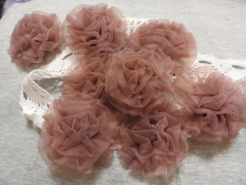 Monofilová růže Ø 80 mm