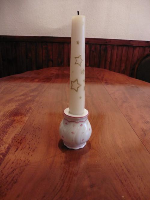 Svícínek  - značený porcelán