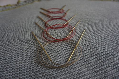 Addi Lace - Kruhové jehlice 2 mm 80 cm