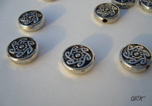 kovové - korálky