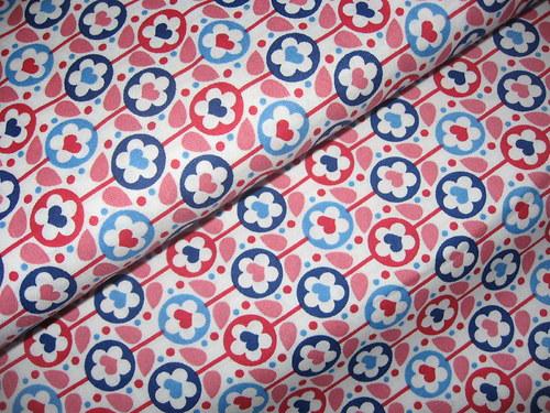 bavlněná látka-vzory