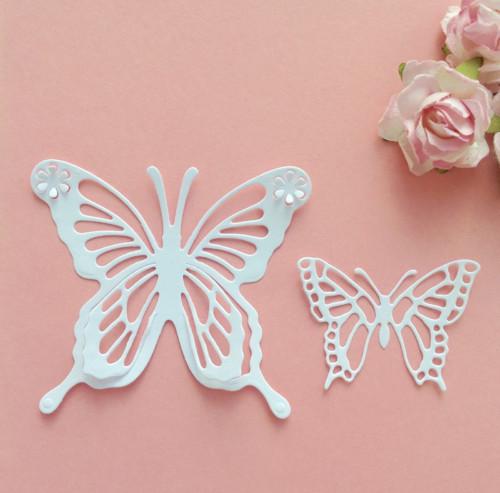 Motýli- sada 2ks , barva dle přání(výsek)MOT 1 +13