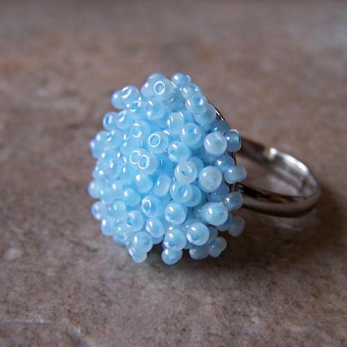Ježatý prstýnek