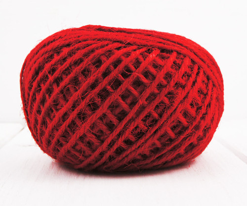20m 65 21yrd Horké Červené Konopí, Lnu Kabel Výrob