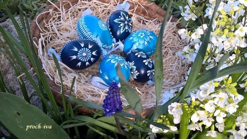 Veselá jarní modrá sada II.