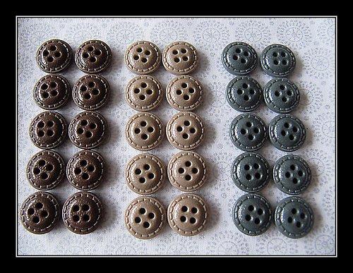retro knoflíčky