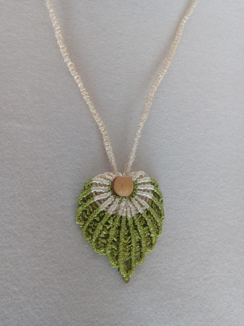 Macramé náhrdelník