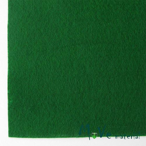 Plsť (filc) 20x30cm, 1ks, středně zelená