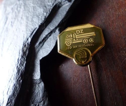 JZD Slušovice...starý odznak