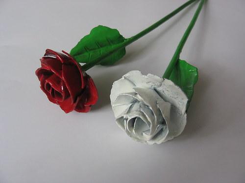 růže z lásky - bílá