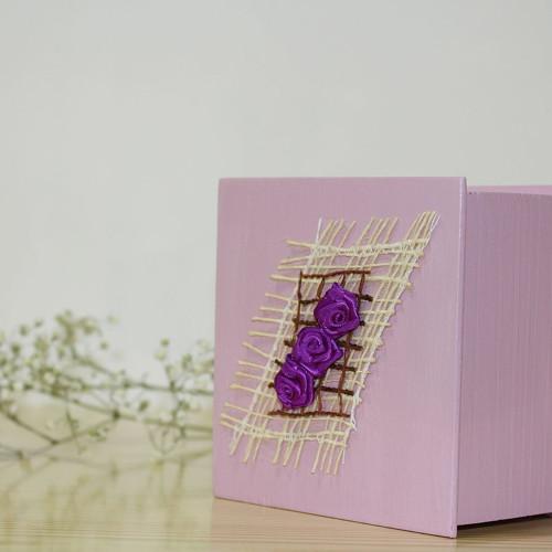 Krabička na snubní prstýnky