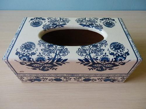 Krabička na kapesníky Cibulák