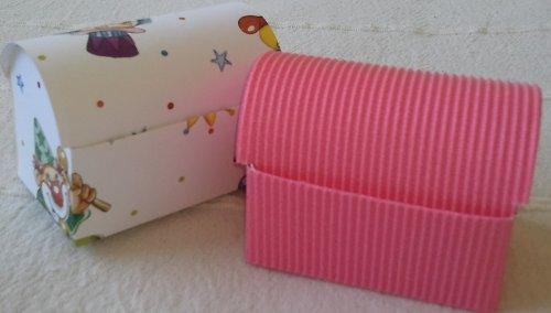 Dárková krabička - polotovar truhla