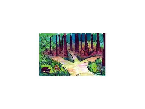 Kulisa K3 V lese
