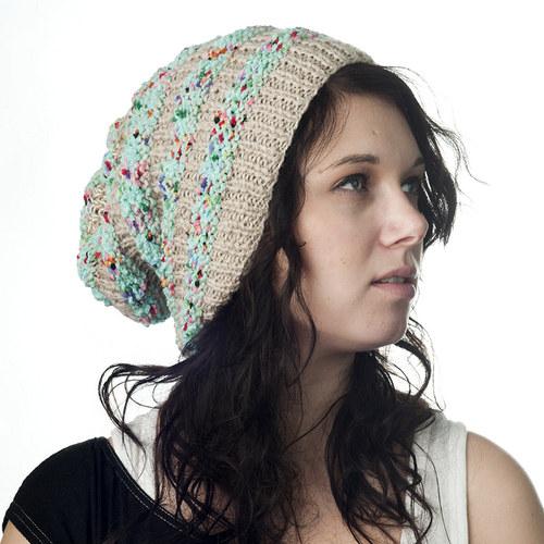 Hat Bag v béžové