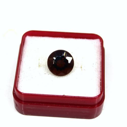 Obsidián deep reddish brown