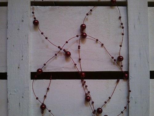 perličky - bordó