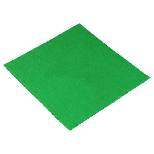 Filcový list 30x30 cm tmavě zelený