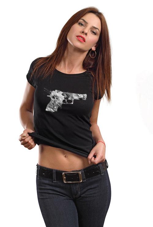 Dámské tričko ,, Flower pistol,,