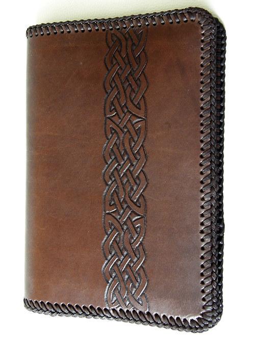 Blok A3 hnědý s keltským vzorem