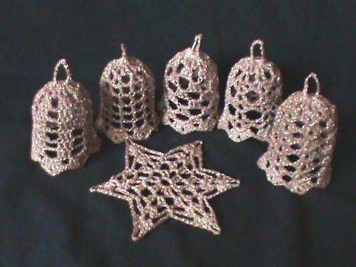 zvonečky-zlatohnědé+1 hvězdička