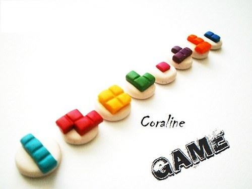 Miniaturní Duha Tetris - Sada