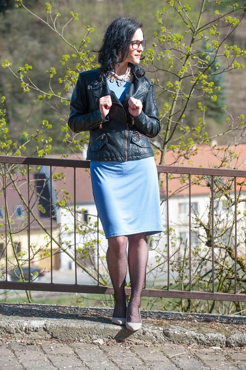 Šaty Alex nachové midi, i pro těhotné