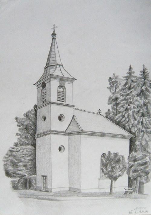 kostel v Lásenici