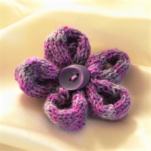 Brož - fialová
