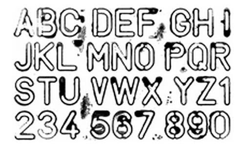 PaperArtsy Mini 18 cling razítko