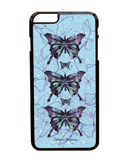 MOTYL V MODRE - iPhone 6 Plus Kryt