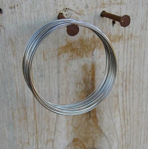 Paměťový drát průměr cca 60-65 mm - 20 otoček
