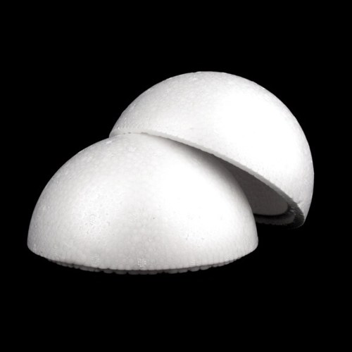 Polystyrenová koule pr.400 mm 2dílná dutá (1ks)