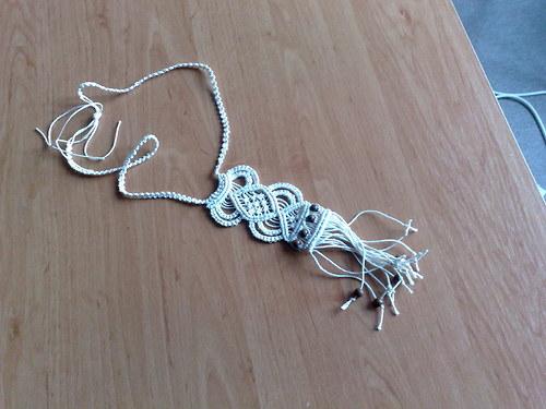 náhrdelník drhaný 2