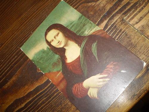 MONA LISA - pohlednice