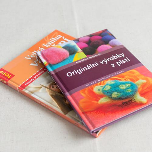 Kniha  - Plstění a Vánoční vyrábění