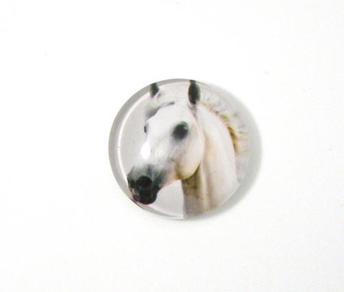 Kabošon sklo, kůň, 20 mm