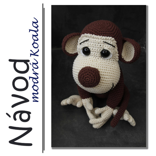 Háčkovaný opičák Max - Návod
