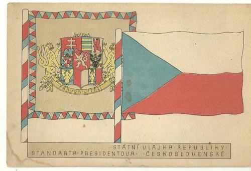 Pohlednice Vlastenecké Vlajka
