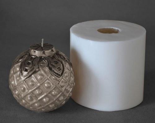 Forma na svíčky Indická koule - průměr 7cm