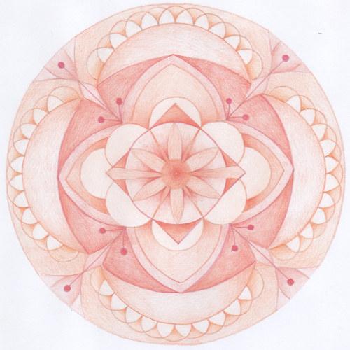 Mandala - 2.čakra - sakrální